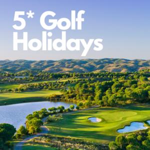 5* Golf Holidays